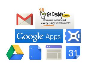 Godaddy & Google Apps
