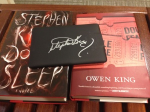 Stephen King Kindle autograph